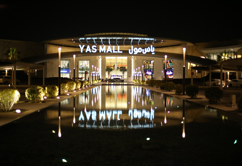Yas Mall, Abu Dhabi   Projects and supplies, lighting supplier